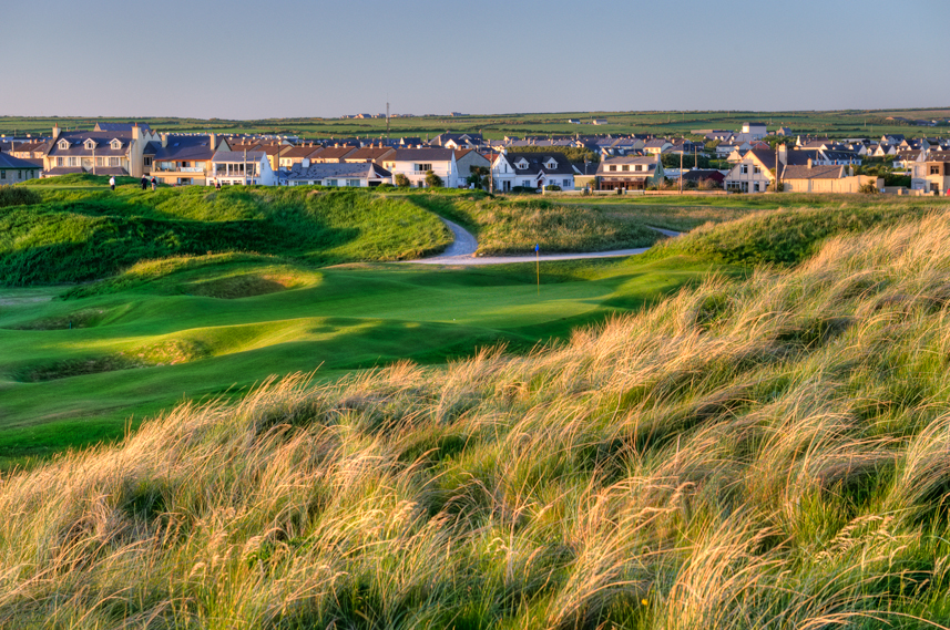 Ballybunion golf course design