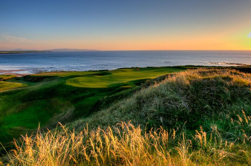 Ballybunion Golf Club Old Course 10th Hole Sunset
