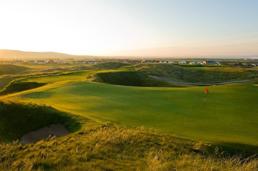 Ballybunion Golf Club Old Course 12th Hole Green AM