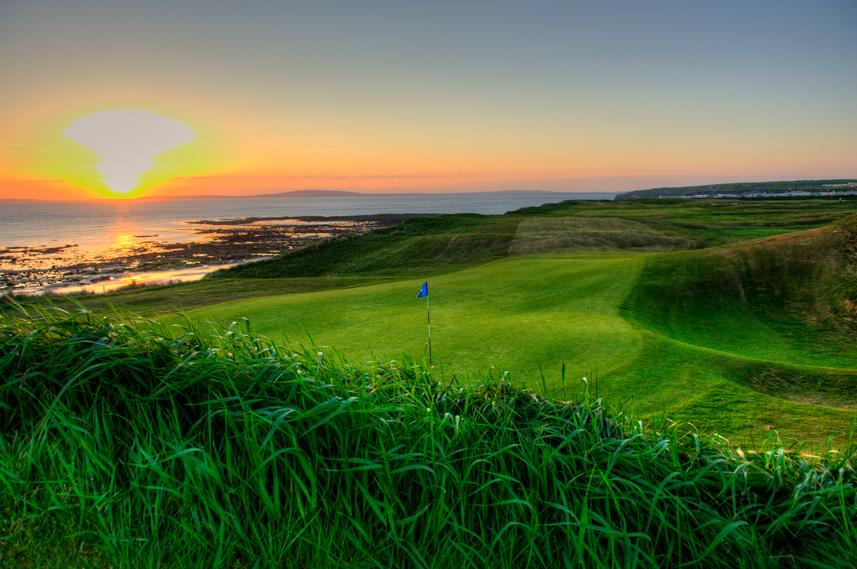 Ballybunion Golf Club Old Course 6th Hole Back Sunset