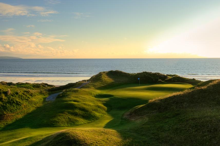 Ballybunion Golf Club Cashen Course 10th Hole Backlit