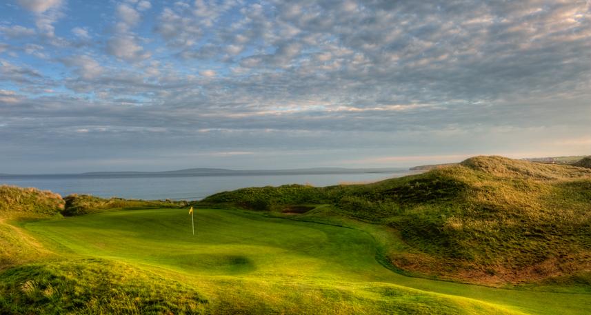 Ballybunion Golf Club Cashen Course 10th Hole Side