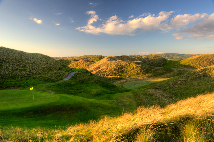 Ballybunion Golf Club Cashen Course 15th Hole Late