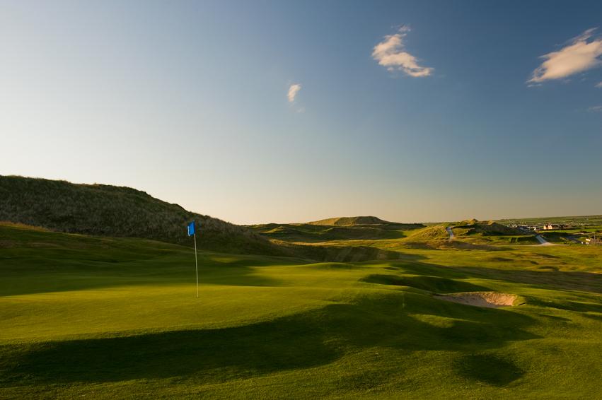 Ballybunion Golf Club Cashen Course 1st Hole Back