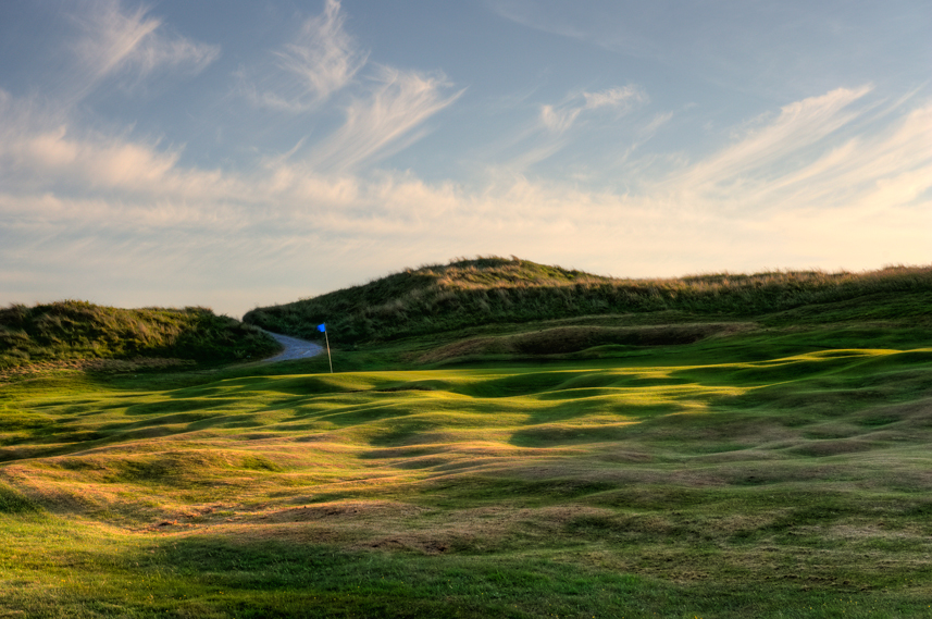 Ballybunion Golf Club Cashen Course 2nd Hole Ripple