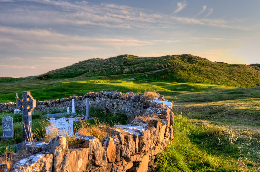 Ballybunion Golf Club Cashen Course 16th Hole Graveyard