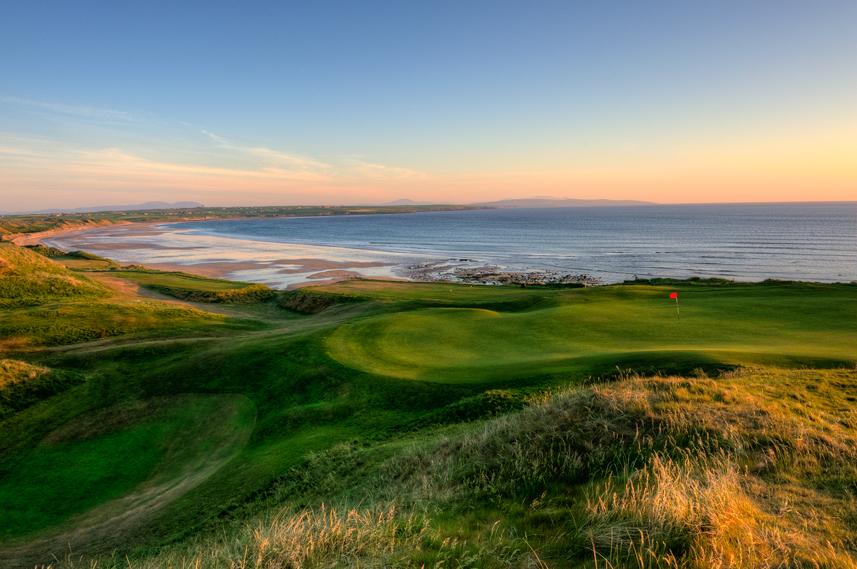 Ballybunion Golf Club Old Course 10th Hole Green Beach