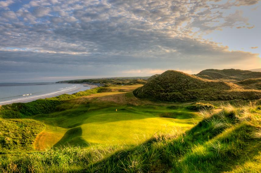 Ballybunion Golf Club Old Course 17th Hole Back