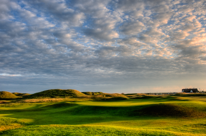 Ballybunion Golf Club Old Course 3rd Hole Back