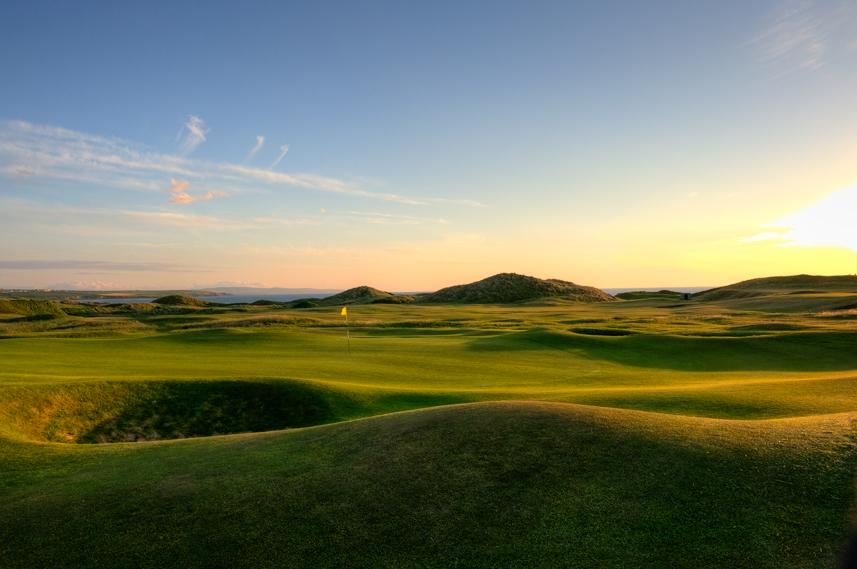 Ballybunion Golf Club Old Course 3rd Hole Side