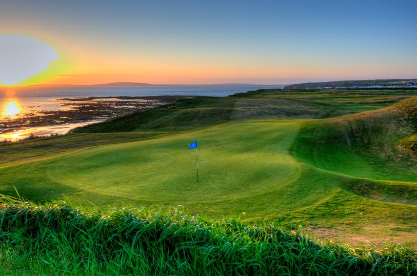 Ballybunion Golf Club Old Course 6th Hole Sun